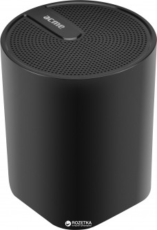Акустическая система Acme SP109 Dynamic Bluetooth Speaker Black (4770070877098)