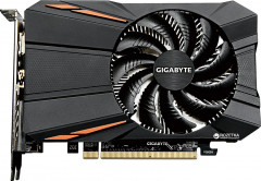 Gigabyte PCI-Ex Radeon RX 560 OC 4GB GDDR5 (128bit) (1189/7000) (DVI, HDMI, Display Port) (GV-RX560OC-4GD)