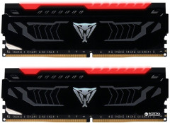 Оперативная память Patriot DDR4-3000 16384MB PC4-24000 (Kit of 2x8192) Viper LED Series Red (PVLR416G300C5K)