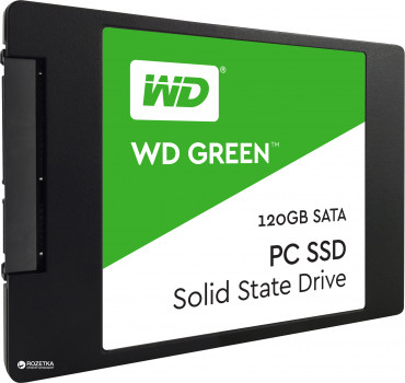 "Western Digital Green SSD 120GB 2.5"" SATAIII TLC (WDS120G2G0A)"