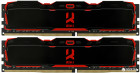 Оперативна пам'ять Goodram DDR4-2666 16384MB PC4-21300 (Kit of 2x8192) IRDM X Black (IR-X2666D464L16S/16GDC)