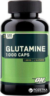 Аминокислота Optimum Nutrition Glutamine 1000 120 капсул (748927022834)