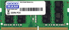 Оперативная память Goodram SODIMM DDR4-2400 4096MB PC4-19200 (GR2400S464L17S/4G)