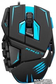 Мышь Mad Catz M.M.O. TE USB Black/Blue (MCB437140002/04/1)