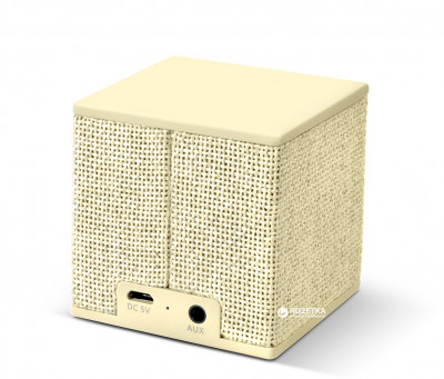 Акустична система Fresh 'N Rebel Rockbox Cube Fabriq Edition Buttercup (1RB1000BC)