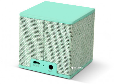 Акустична система Fresh 'N Rebel Rockbox Cube Fabriq Edition Peppermint (1RB1000PT)