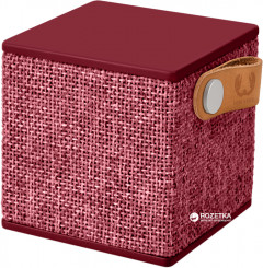 Fresh 'N Rebel Rockbox Cube Fabriq Edition Ruby (1RB1000RU)