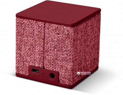 Акустична система Fresh 'N Rebel Rockbox Cube Fabriq Edition Ruby (1RB1000RU)