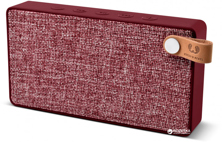 Акустическая система Fresh 'N Rebel Rockbox Slice Fabriq Edition Ruby (1RB2500RU) - изображение 1