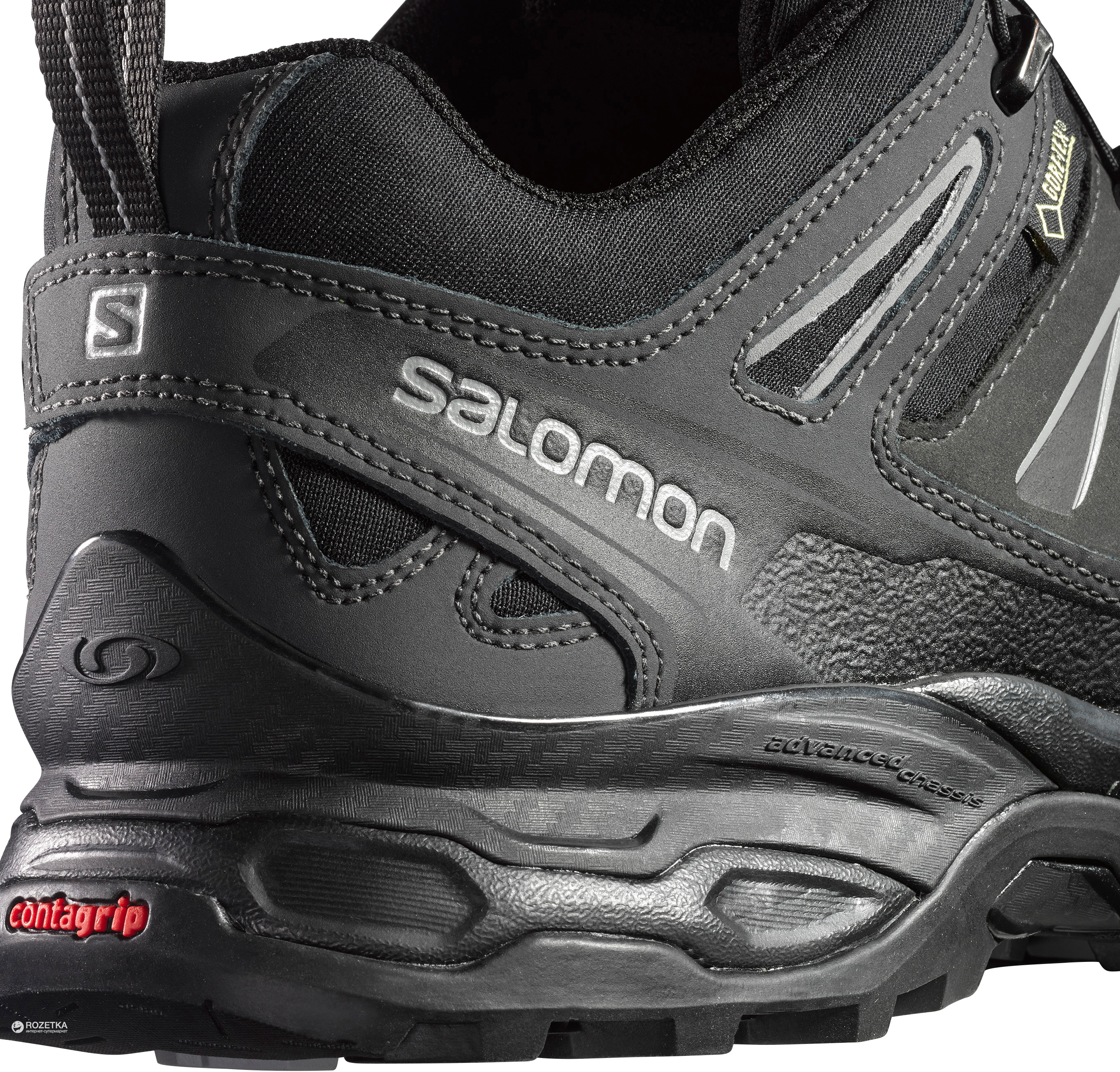 0beda960 Кроссовки Salomon X Ultra Ltr Gtx Asphalt/Black/Ptr s369024-9.5 44 28