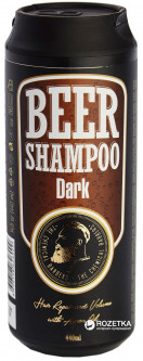 Восстанавливающий шампунь The Chemical Barbers для тонких и сухих волос Dark beer shampoo 440 мл (8606108626009)