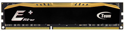 Оперативна пам'ять Team Elite Plus DDR3-1600 8192MB PC3-12800 Black (TPD38G1600HC1101)