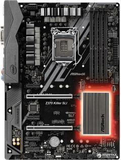 Материнская плата ASRock Z370 Killer SLI (s1151, Intel Z370, PCI-Ex16)