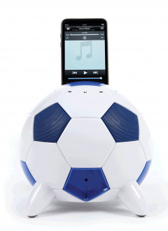 Speakal miSoccer Blue (2.1 Stereo iPod Docking Station with 5 Speakers) (MISOCCER-BLU)