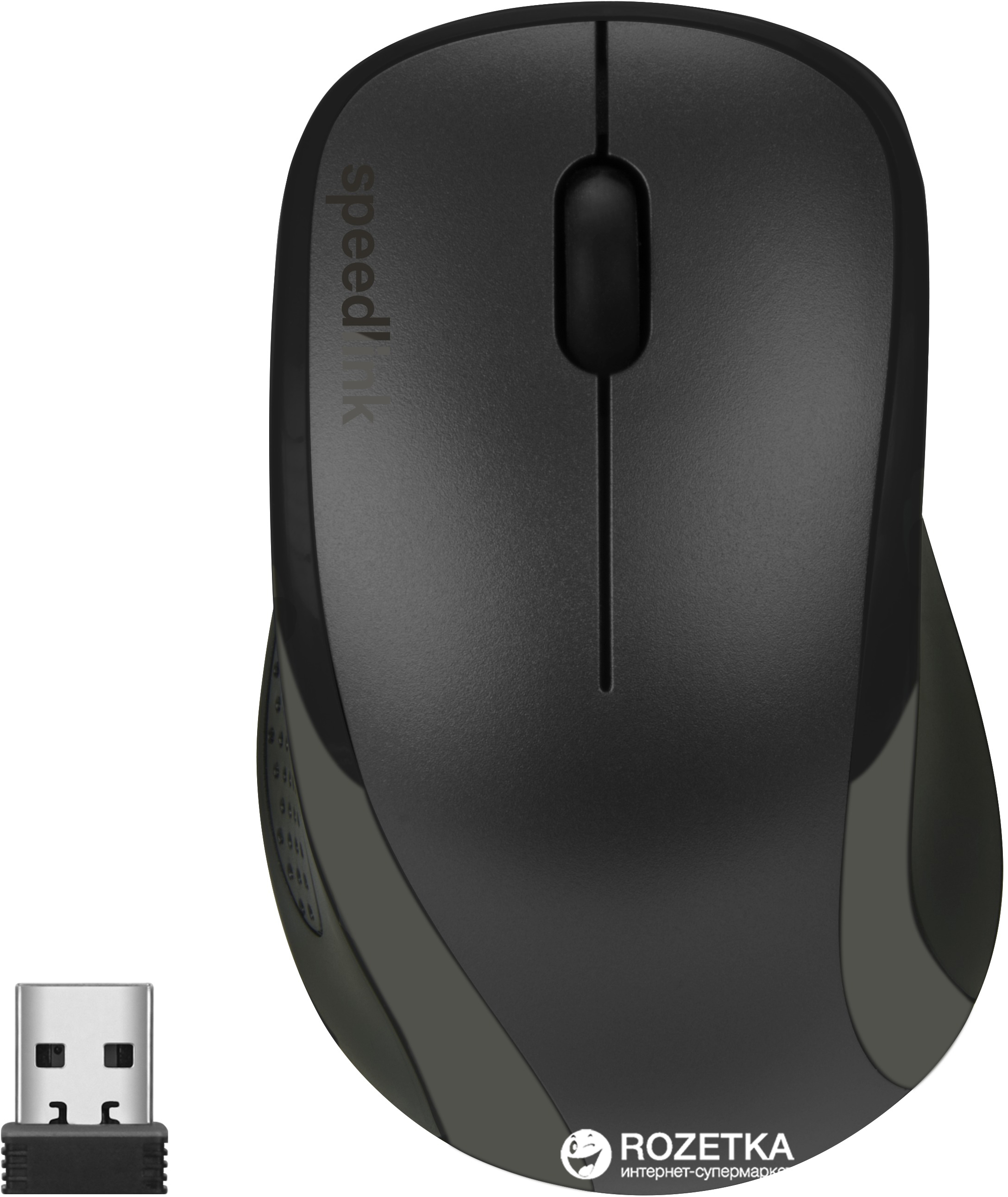 Мышь SPEEDLINK Kappa Wireless Black (SL-630011-BK)