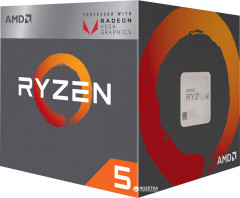 Процессор AMD Ryzen 5 2400G 3.6GHz/4MB (YD2400C5FBBOX) sAM4 BOX