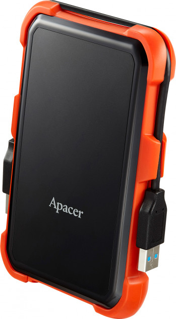 "Жорсткий диск Apacer AC630 2TB 5400rpm 8MB AP2TBAC630T-1 2.5"" USB 3.1 External Orange - зображення 1"