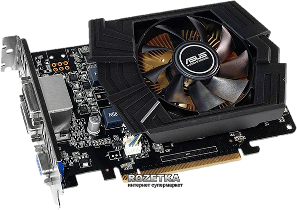 Asus PCI-Ex GeForce GTX 750 Ti 2048MB GDDR5 (128bit) (1020/5400) (VGA, 2 x DVI, HDMI) (GTX750TI-PH-2GD5)