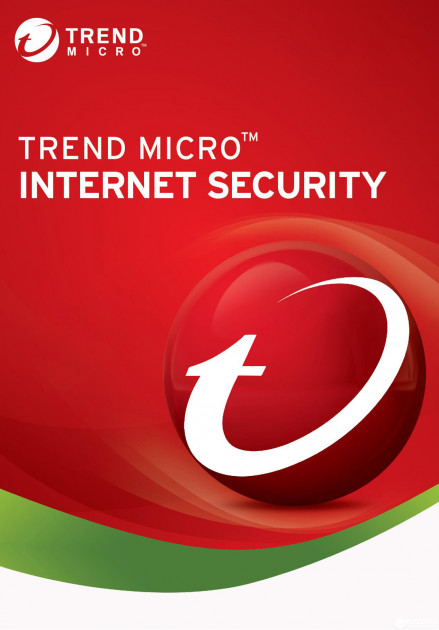 Антивирус Trend Micro Internet Security 2018 (1 ПК) лицензия на 1 год Базовая (TI10972452)