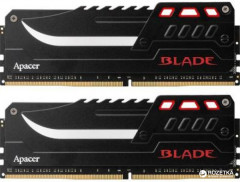 Оперативная память Apacer DDR4-3200 16384MB PC4-25600 (Kit of 2x8192) Blade (EK.16GA1.GEBK2)
