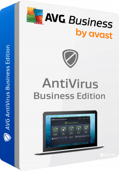 Антивирус AVG Anti-Virus Business Edition для 15 ПК на 1 год (avb.15.4.0.12)