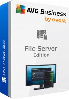 Антивирус AVG File Server Edition для 190 ПК на 2 года (fsc.190.4.0.24)