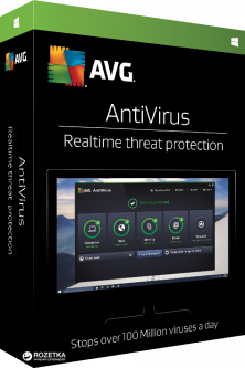 Антивирус AVG Anti-Virus для 1 ПК на 1 год (электронная лицензия) (avc.1.0.0.12.15)