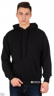 Худи Fruit of the loom Hooded Sweat 062208036 XXL Черное