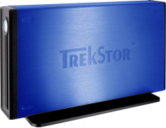Жесткий диск Trekstor maxi m.ub 640GB DSMMUB-S-SU-a 3.5 USB 2.0 External BLUE Refurbished