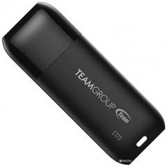 Team C173 USB 2.0 16GB Pearl Black (TC17316GB01)