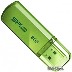 Silicon Power Helios 101 8 GB Green (SP008GBUF2101V1N)