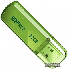 Silicon Power Helios 101 32 GB Green (SP032GBUF2101V1N)