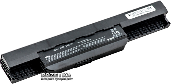 Аккумулятор PowerPlant A32-K53 для Asus A43 A53 Black (10.8V/5200mAh/6 Cells)