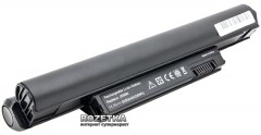 Аккумулятор PowerPlant для Dell Inspiron Mini 10 Black (11.1V/5200mAh/6Cells) (NB00000113)