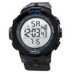 Часы Skmei DG1127 Black - Blue BOX (DG1127BOXBKBL)