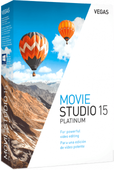 MAGIX Vegas Movie Studio 15 Platinum для 1 ПК (электронная лицензия) (ANR008176ESD)