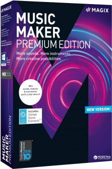 MAGIX Music Maker Premium Edition для 5-99 ПК (электронная лицензия) (ANR007801ESDL1)