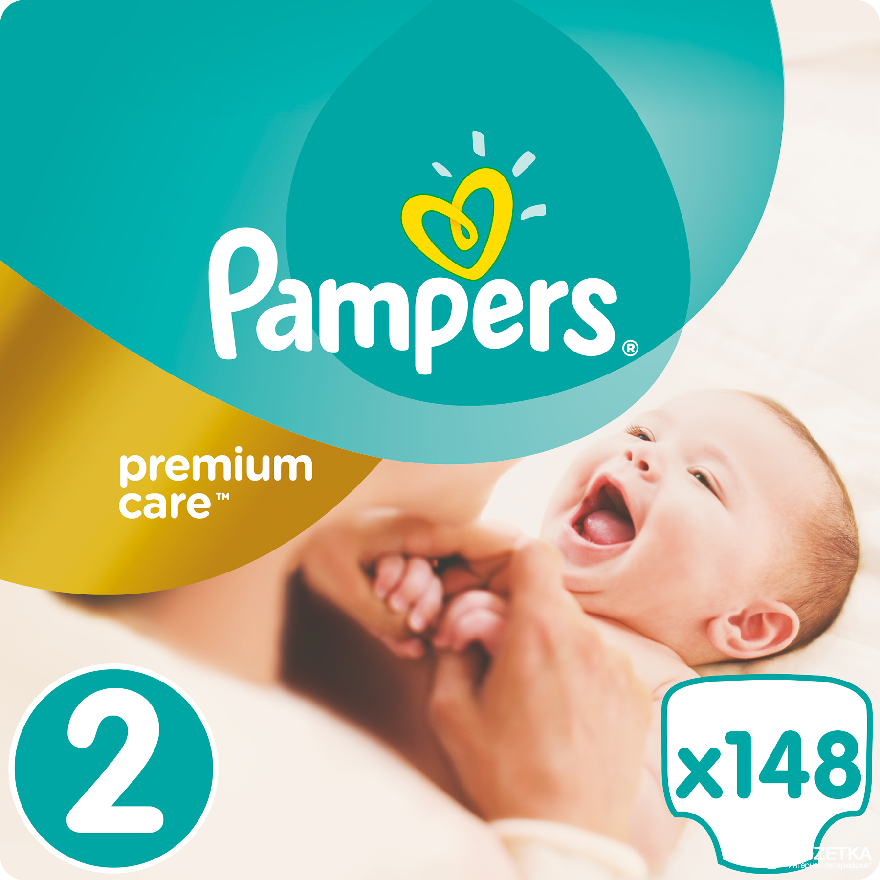 Rozetka.ua   Подгузники Pampers Premium Care New Baby Размер 2 (Mini ... a5b92091e97