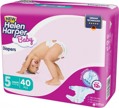 Подгузники Helen Harper Baby New Junior 11-25 кг, 40 шт (5411416030713)