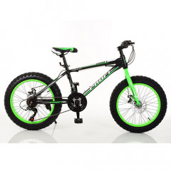 "Велосипед Profi 20"" EB20POWER 1.0 S20.2 Black-Lime Green (EB20POWER 1.0)"