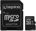 Kingston microSDHC 32GB Canvas Select Class 10 UHS-I U1 + SD-адаптер (SDCS/32GB)