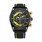 Часы Megir Black Yellow Black MG2051 (MN2051G-BK-1-N13) - изображение 1