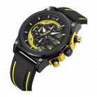 Часы Megir Black Yellow Black MG2051 (MN2051G-BK-1-N13) - изображение 2