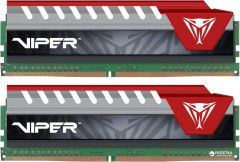 Оперативная память Patriot DDR4-2800 32768MB PC4-22400 (Kit of 2x16384) Viper Elite Series Red (PVE432G280C6KRD)