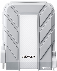 "Жесткий диск ADATA DashDrive Durable HD710A Pro 1TB AHD710AP-1TU31-CWH 2.5"" USB 3.1 External White"