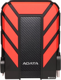 "Жесткий диск ADATA DashDrive Durable HD710 Pro 2TB AHD710P-2TU31-CRD 2.5"" USB 3.1 External Red"