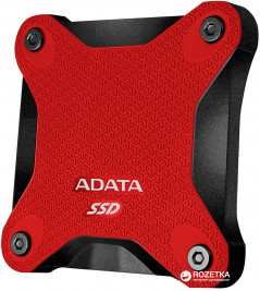 ADATA SD600 512GB USB 3.1 3D TLC NAND Red (ASD600-512GU31-CRD) External