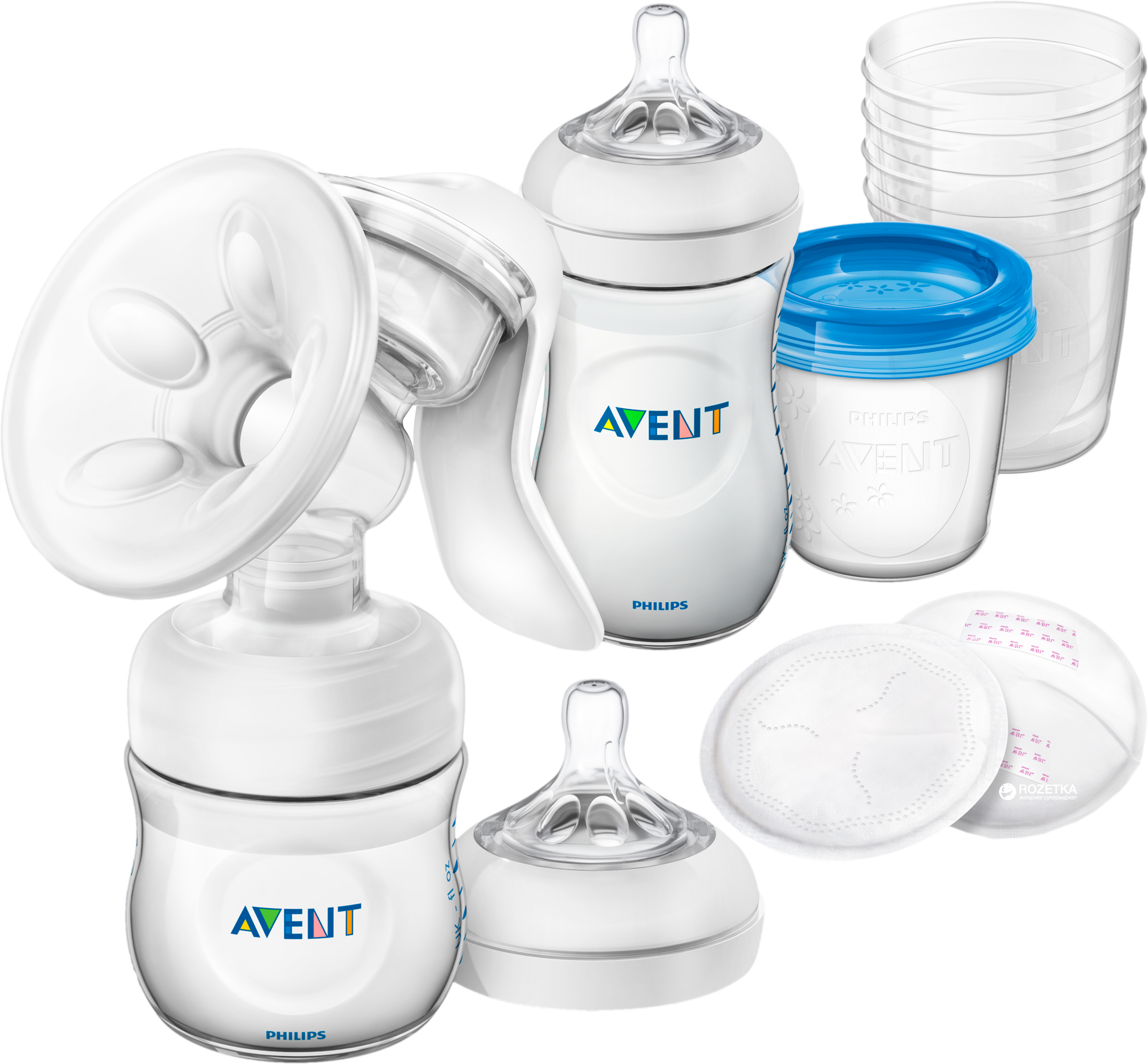 04cf44bc632e Набор для сцеживания молока Philips Avent Comfort Breastfeeding Support Kit  (SCD221 00) (