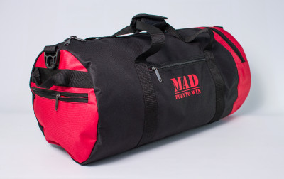 Сумка MAD 40L black-red (623033-03)