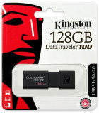 Kingston DataTraveler 100 G3 128GB USB 3.0 Black (DT100G3/128GB) - изображение 6